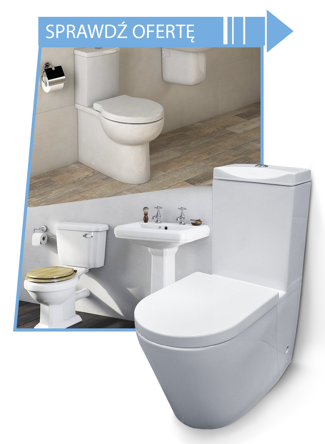 Podłączenie linii wody toaletowej