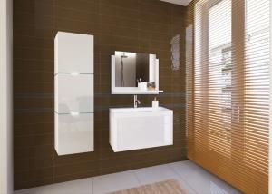 Zestawy Mebli łazienkowych Komplety Mebli łazienkowych