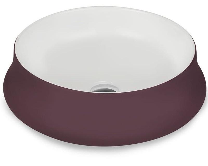 NEVE Aborre умывальник с рабочей поверхностью фиолетовый