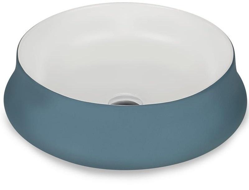 NEVE Aborre умывальник с рабочей поверхностью синий