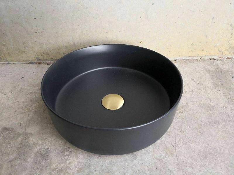 NEVE черная раковина с рабочей поверхностью
